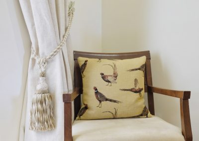 Chair and Pheasant